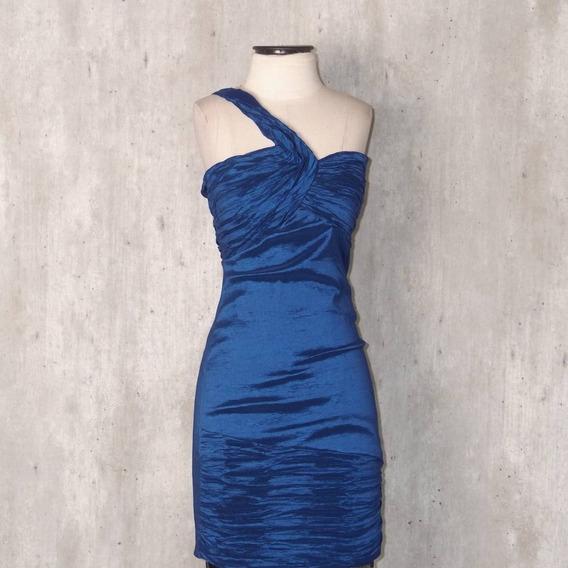 Vestido Curto Festa Casamento Formatura Azul