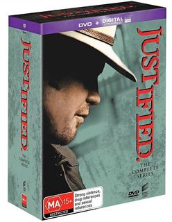 Justified Serie Completa De Coleccion En Dvd!