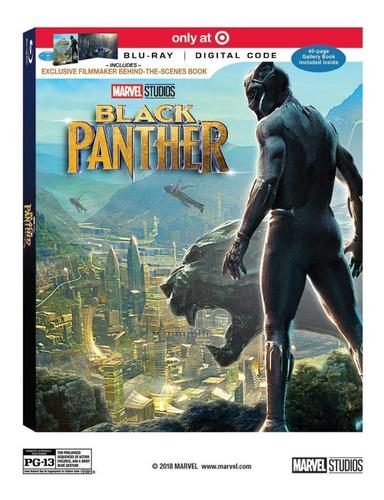 Blu Ray Black Panther Digibook Target Dc Marvel
