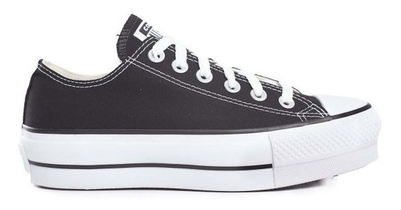 Converse Zapatillas Lifestyle Mujer Ctas Lift Ox Negro Fkr