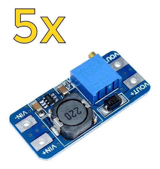 Conversor Dc-dc Step Up Boost Tensão Mt3608 2a - Carta Reg.