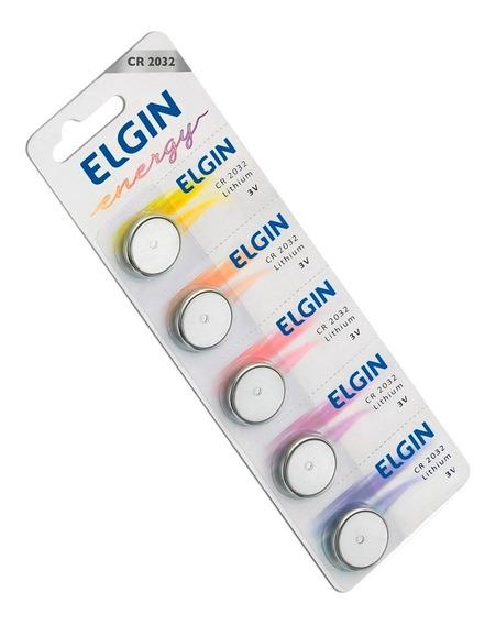 3 Cartelas C/5 Baterias Cda Sendo Cr2032/cr2016/cr2025 Elgin