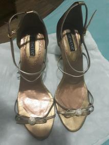 Sandália Ouro Envelhecido