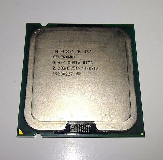 Processador Intel Celeron 450 2,20ghz/512m/800 Lga 775 -