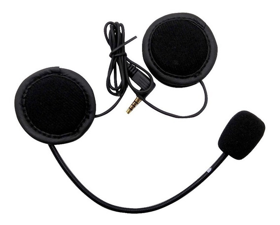 Kit Auriculares Microfono Intercomunicador V6 1200 V4 E6 Ejeas