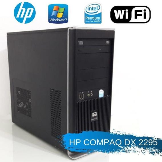 Pc Barato Hp Pentium Dual Ram 2gb 12x Sem Juros Aproveite!