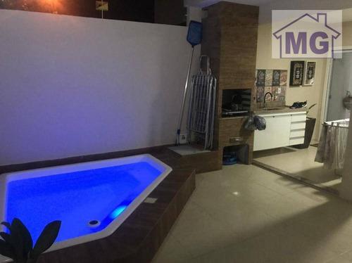Imagem 1 de 22 de Casa Com 3 Dormitórios À Venda, 125 M² Por R$ 430.000,00 - Vale Das Palmeiras - Macaé/rj - Ca0174