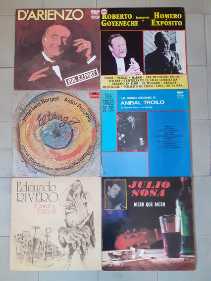 Discos Vinilo (tango)