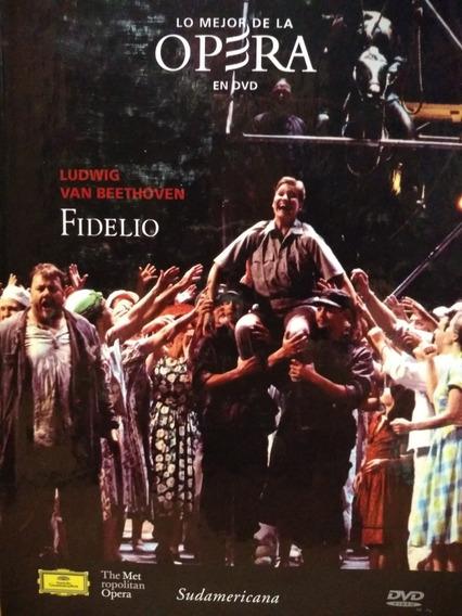 Fidelio Ópera Ludwig Van Beethoven - Libro Y Dvd