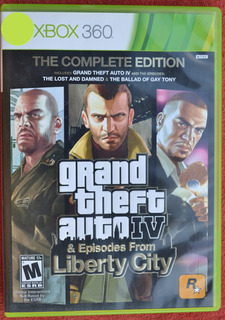 Grand Theft Auto Iv (4) Episodes From Liberty City Xbox 360