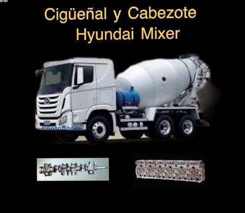 Cabezote,cigueñal ,kit De Reparacion Hyuday Mixer Hd270
