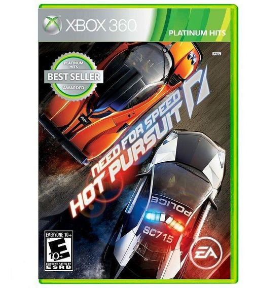 Need For Speed Hot Pursuit Xbox 360 Mídia Física Lacrado