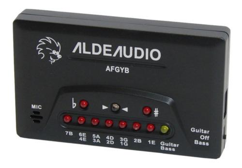 Imagen 1 de 1 de Afinador Digital Afgyb P/guitarra Y Baj. Electric. Aldeaudio