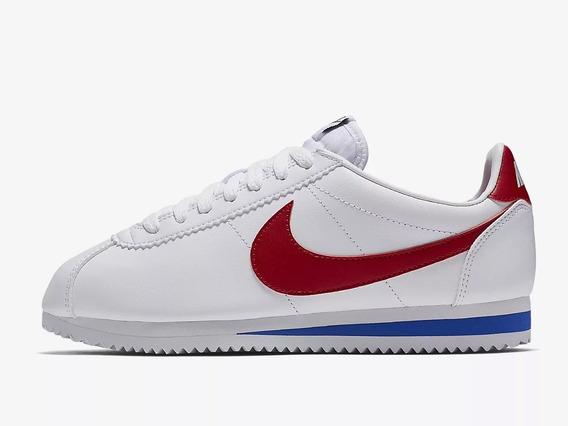 Tênis Nike Wmns Cortez Classic White Red