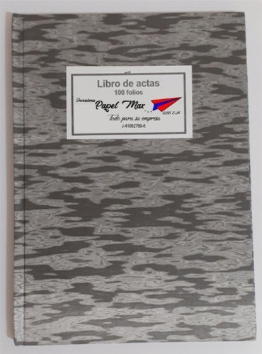 Libros De Acta 200 Folios