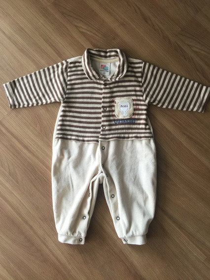 Macacão Carinha Baby