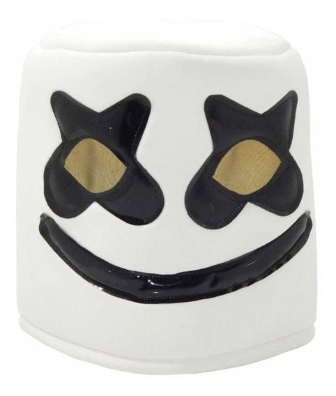 Marshmello Dj Casco Básico Disfraz Cosplay Fortnite