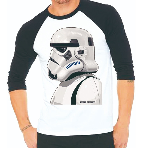 Playera Star Wars Perfil Trooper