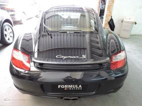 Porsche Cayman S 3.4 6 Cc 2006 Preta