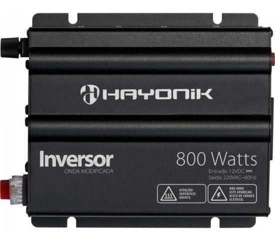 Inversor Hayonik 800w 12v / 220v Onda Modificada