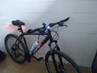 Bicicleta Gts Walk New 24 Marchas, Freio A Disco Com Brindes