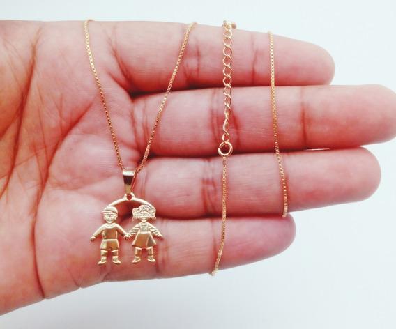 Colar+pingente De Ouro 18k Banhado Cartier Kml0942 209