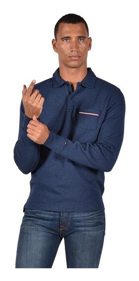 Polo - Tommy Hilfiger - Mw0mw03249901 - Azul Hombre