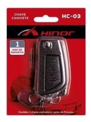 Chave Canivete Hc03 Funcao Bloqueio Original Hinor