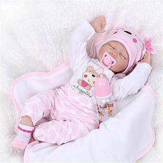 Npk Colección Juguete Bebe Realistas De 22 Silicona