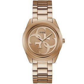 Relógio Feminino Guess Ladies Trend 92628lpgtra9 Aço Rosé