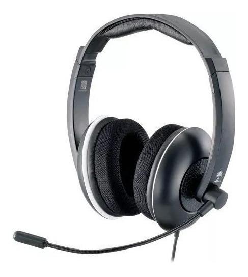 Fone Headset Turtle Beach Original Para Sony Ps3 Microsoft Xbox 360 Pc Ideal Para Jogos De Tiro E Chat Live Som Do Jogo