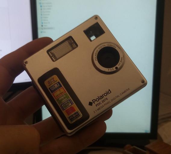 Câmera Digital Polaroid Do Ano De 2003 Funcionando!