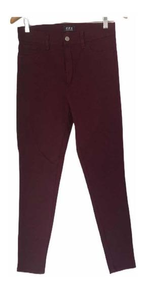 Pantalon Elastizado Tiro Alto Exs Varios Colores Y Talles