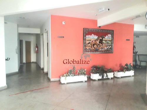 Apartamento Com 2 Dormitórios À Venda, 68 M² Por R$ 218.000,00 - Saboó - Santos/sp - Ap0519