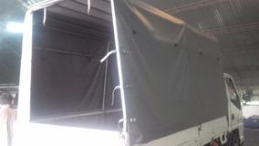 Caja Para Camion Con Barandas , Arcos Y Lona