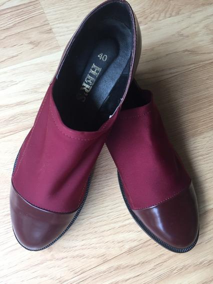 Zapatos Hers Mujer T 40. Casi Nuevos