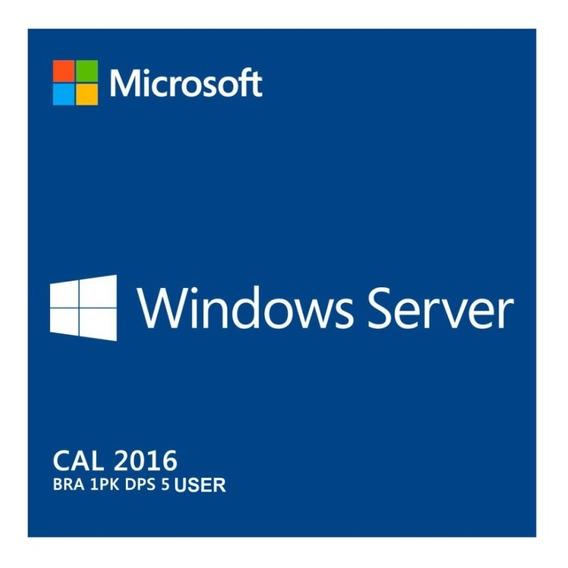 15 Cal Acesso Remoto Rds/ts Windows Server 2016 User/devic.