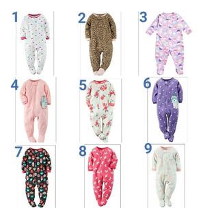 Monos Pijamas Carters Para Niña