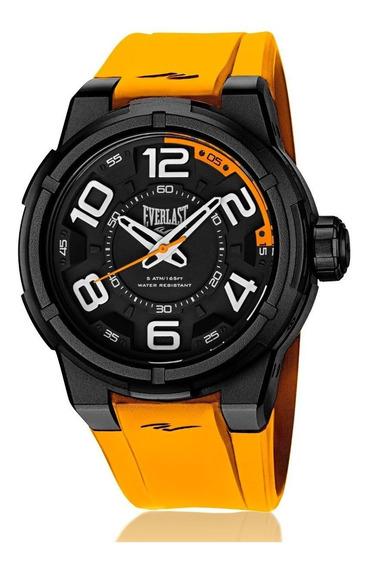 Relógio Pulso Everlast Torque E689 Caixa Abs E Pulseira