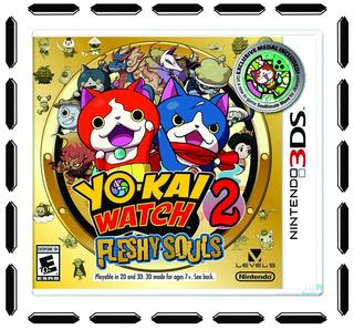 Yo-kai Watch 2: Fleshy Souls 3ds Nintendo 3ds Nuevo