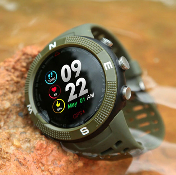 Relogio F18 Com Gps Integrado E Bluetooth Esportes