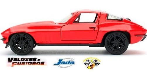 Miniatura Chevy Corvette Velozes Furiosos 8 Letty