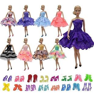 Zita Elemento 5pcs Fashion Mini Verano Barbie Original + 5 Z