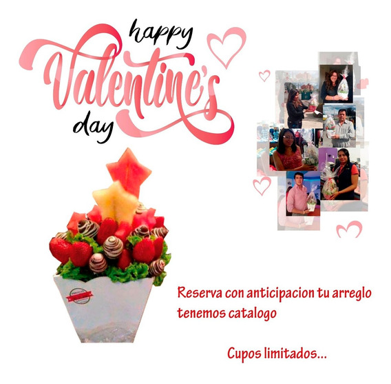 Arreglos Por San Valentín O Día Del Amor Y La Amistad