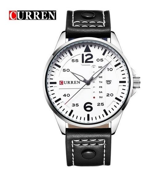 Curren 8224 Mens Relógios Top Marca De Luxo Homens Relógio D