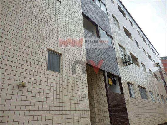 Kitnet Para Alugar, 30 M² Por R$ 900,00 - Tupi - Praia Grande/sp - Kn0047