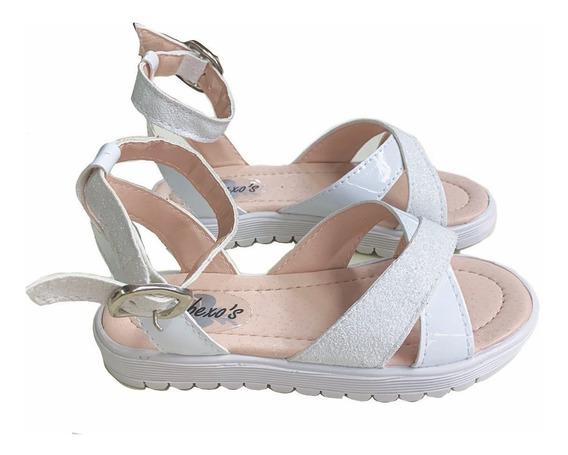 Sandalia De Nena Fiesta Guillermina Zapato Del 27 Al 36