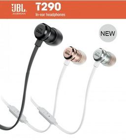 Fone De Ouvido Jbl T290 In Ear Auricular - Frete Grátis