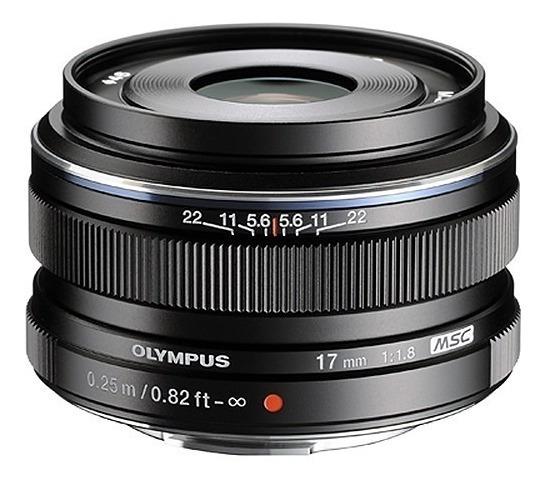 Lente Olympus M.zuiko Digital 17mm F/1.8 Lens