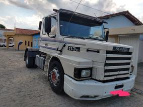 Scania 113h, 360 Cv, Branco